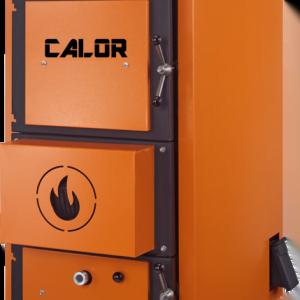 CENTRALA TERMICA PE LEMNE CU GAZEIFICARE CALOR ASPIRO R INOX 53 KW